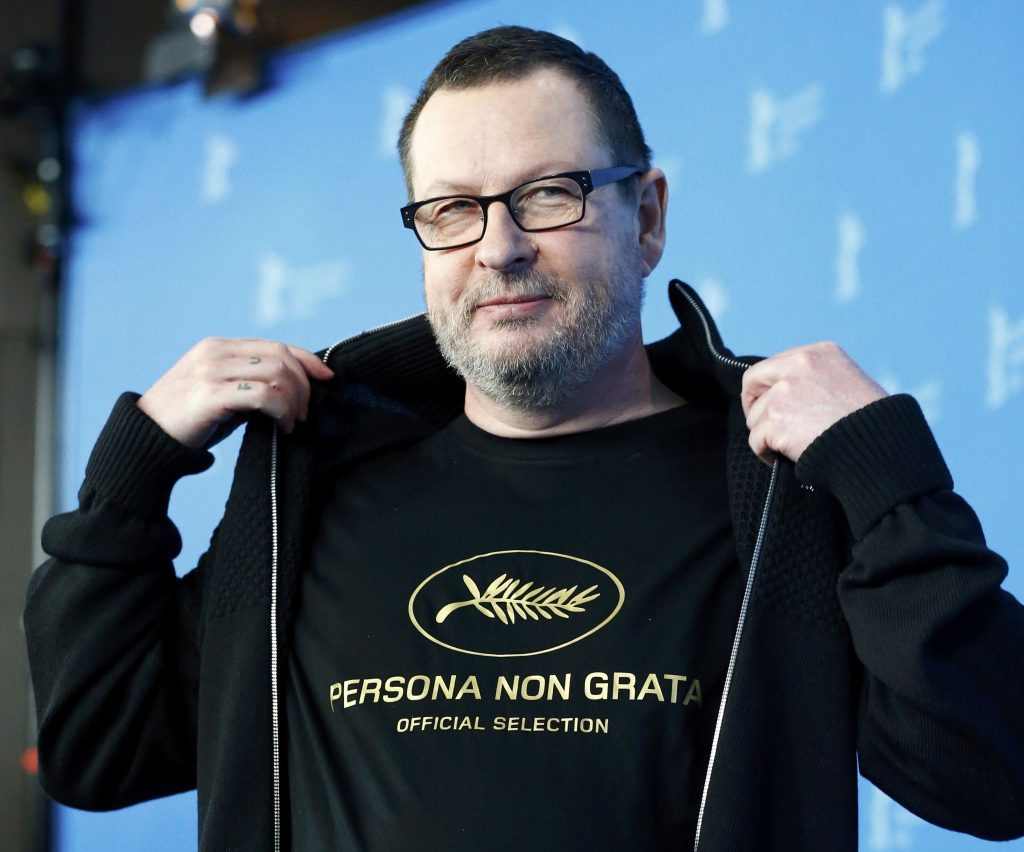 "Director Lars von Trier poses during a photocall to promote the movie ""Nymphomaniac Volume I"" during the 64th Berlinale International Film Festival in Berlin February 9, 2014. REUTERS/Tobias Schwarz (GERMANY  - Tags: ENTERTAINMENT)"